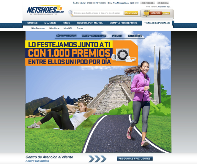 Aniversario Netshoes