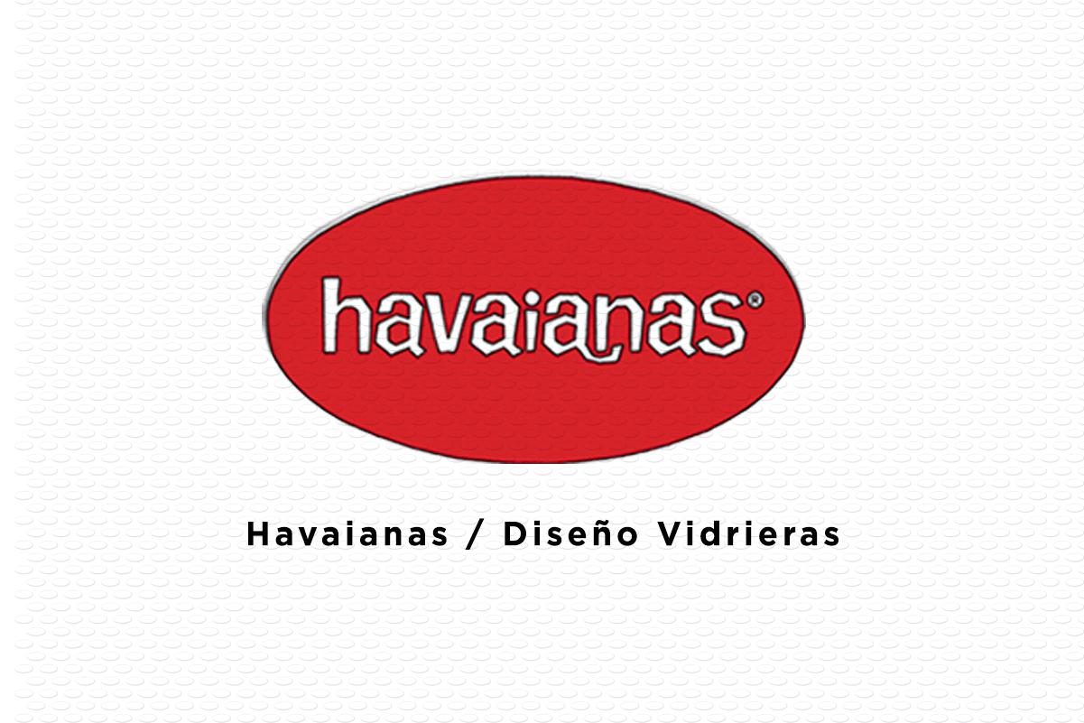 Havaianas / Vidrieras