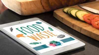 caratula food waste