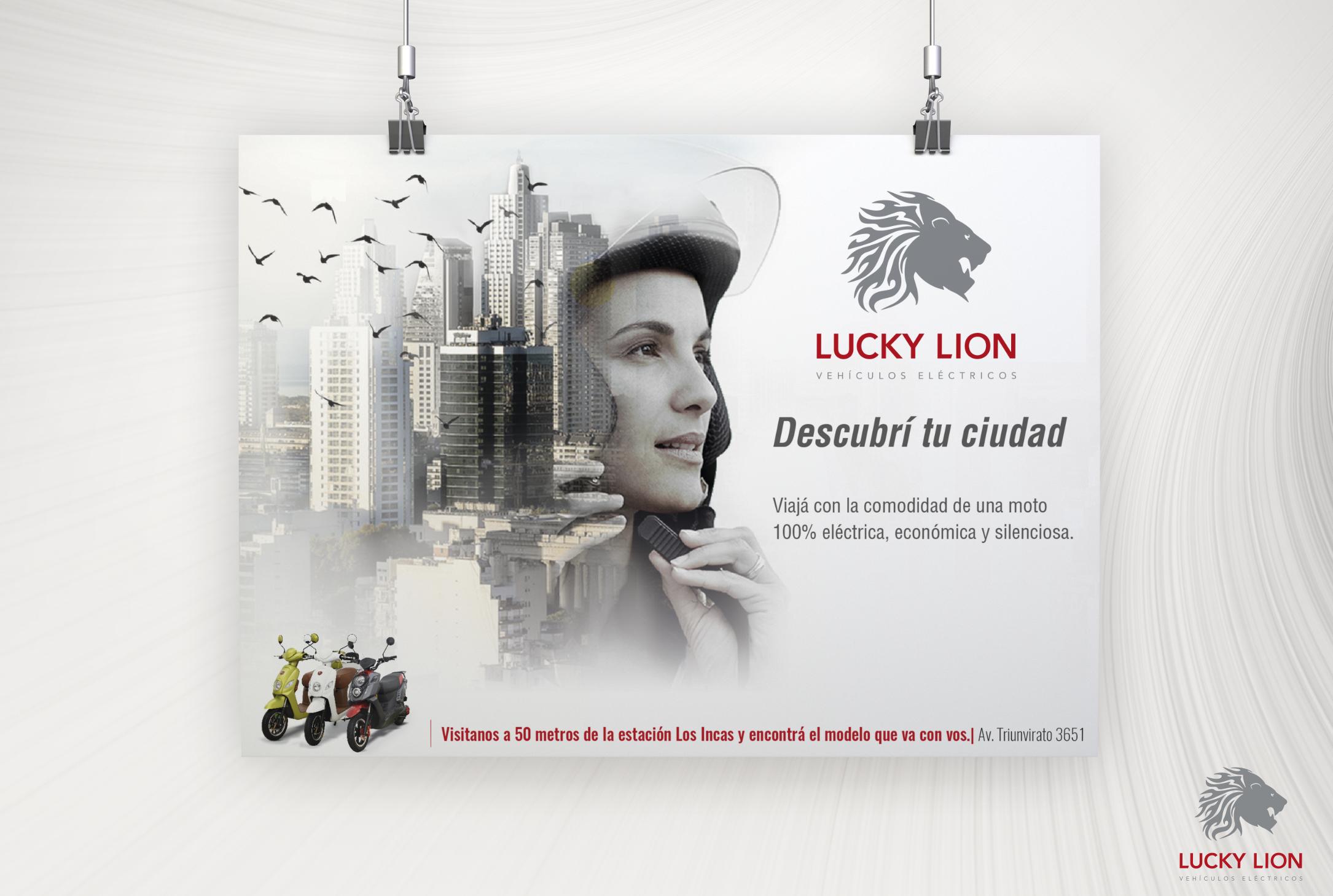 Lucky Lion – Vehículos Eléctricos